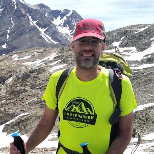 Nuestro Guía de Montaña Jose María Gonzalvez